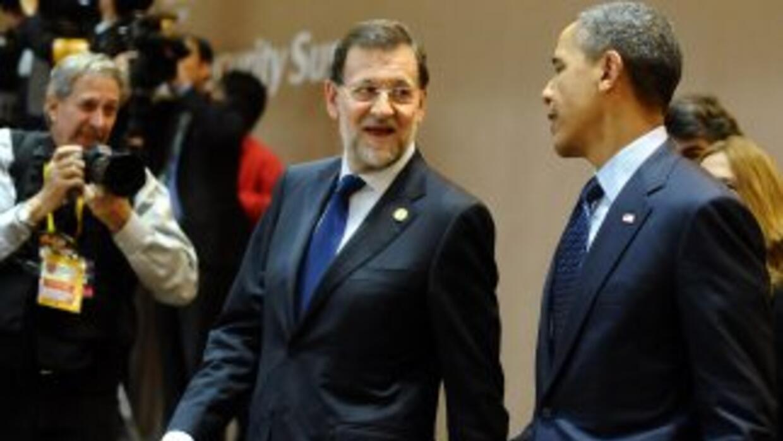 Obama le hizo saber a Rajoy que sus políticas de recuperación económica...