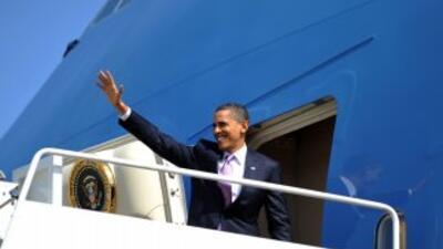 El presidente Obama visitará Brasil, Chile y El Salvador.