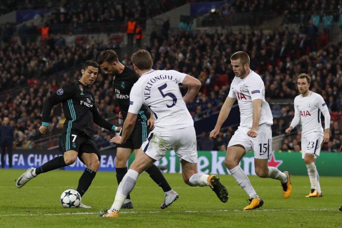 Tottenham paseó al Madrid en Wembley y clasificó a octavos de Champions...