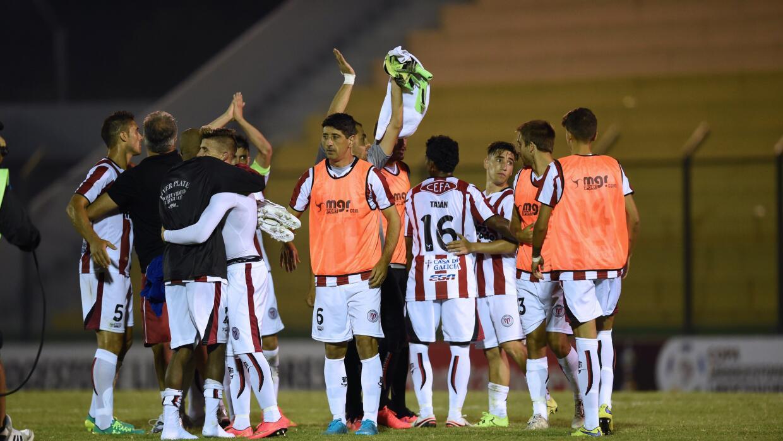 River Plate de Uruguay igualó en casa con Palmeiras