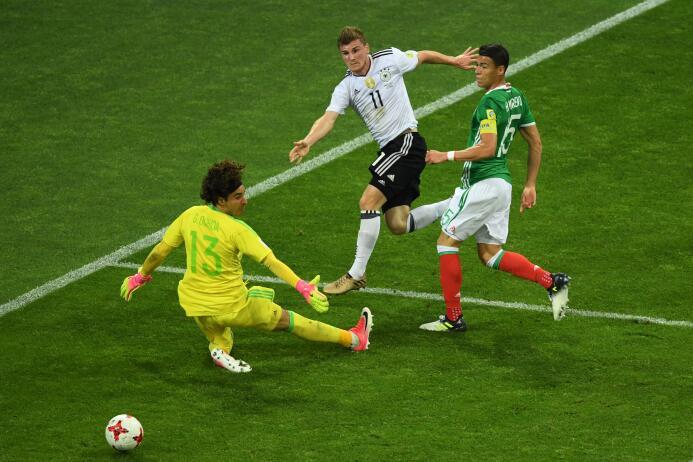 Alemania ganó fácil contra un México desconcertado en la Copa Confederac...