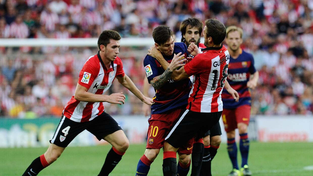 Athletic y Barcelona reeditan la final de la Copa del Rey 2015 en ...