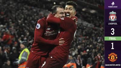 ¡Con dedicatoria a Mou! Liverpool venció a Manchester United y se mantiene líder