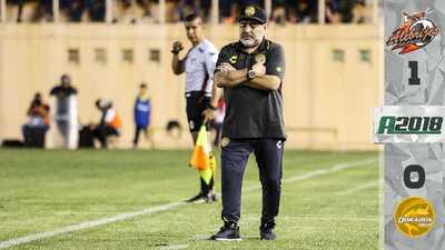 Dorados de Maradona sufren su primera derrota ante Alebrijes