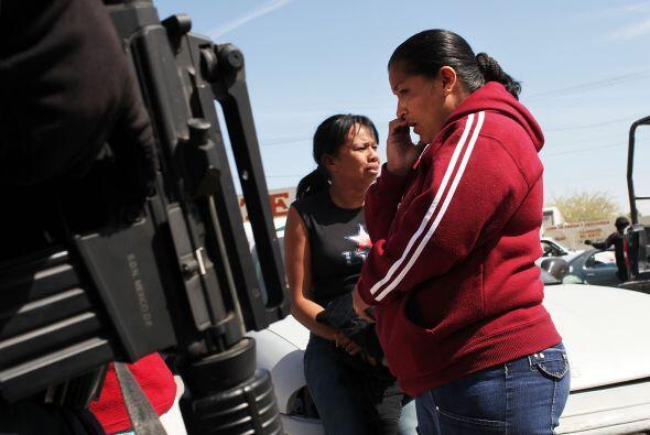 El tema de la narcoviolencia en México preocupa seriamente a sus...