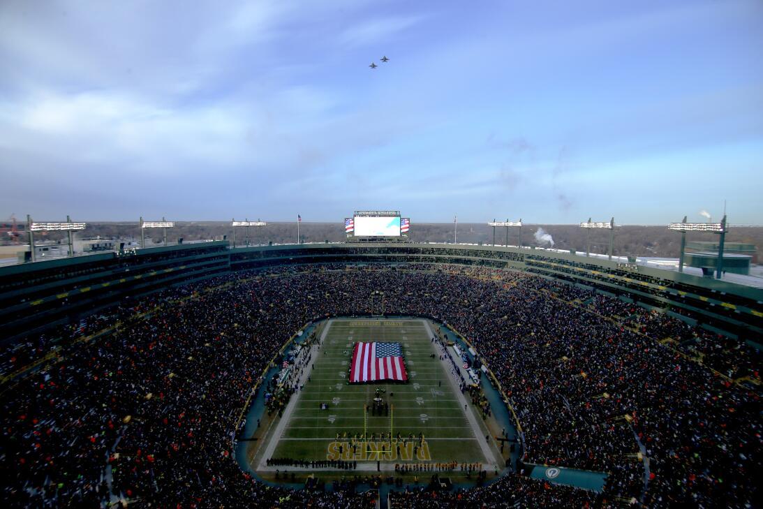 Colorido y espectáculo fuera de competencia en los 'wild card' de NFL Ge...