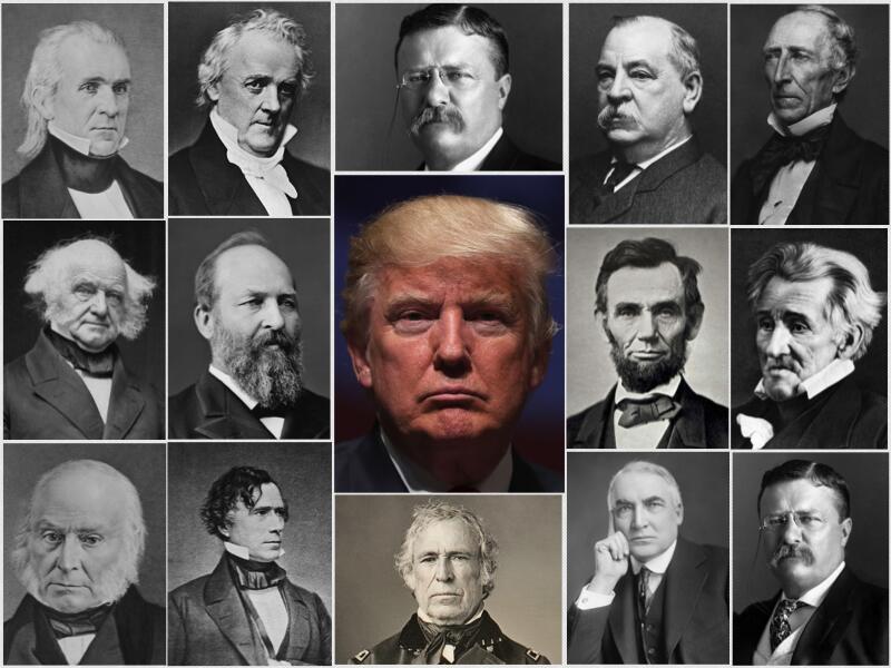 En unas elecciones reñidas, Estados Unidos eligió a Donald...