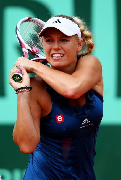 ...dejó fuera a Caroline Wozniacki, número uno del ránking, y ahora la d...