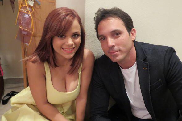Ana Cristina Pagán con Raúl Rodríguez, otro de los siete chicos de quien...