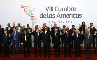 Jefes de Estado durante la foto oficial de la Cumbre de las Améri...