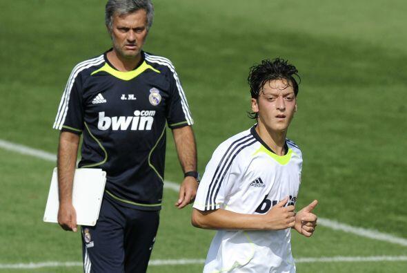 Ahí tenía la oportunidad de crecer aún más de la mano de José Mourinho.