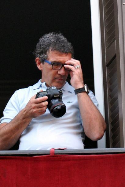 Los paparazzi captaron a Antonio Banderas disfrutando de unos días de de...