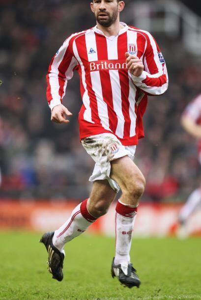 Con el Stoke City, Higginbotham fue de los valuartes en el triunfo ante...