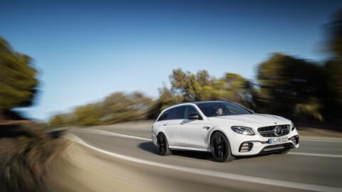 Así es la nueva Mercedes-Benz E63 S Wagon