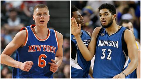 Kristaps Porzingis/ Karl-Anthony Towns