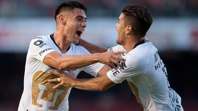 En fotos: Pumas dio un golpe de autoridad para abrir el Apertura 2018