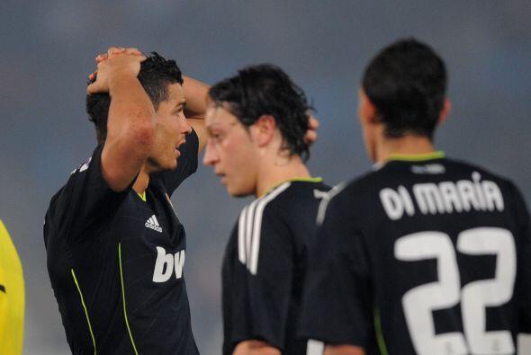 Acabó el partido y aunque Cristiano Ronaldo mandó el balón al travesaño...