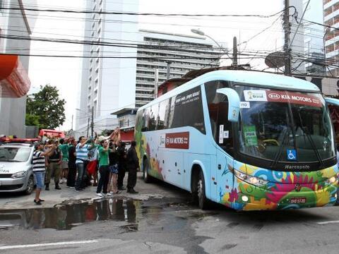 La selección mexicana dejó Recife para volver a su sede en...