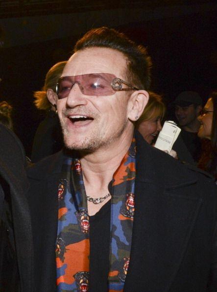 ¡Bono resultó ser todo un 'fashionista' que se la pas&oacut...