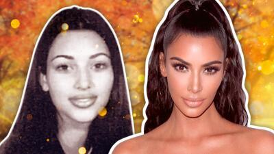 Kim Kardashian y su sorprendente transformación en 20 años