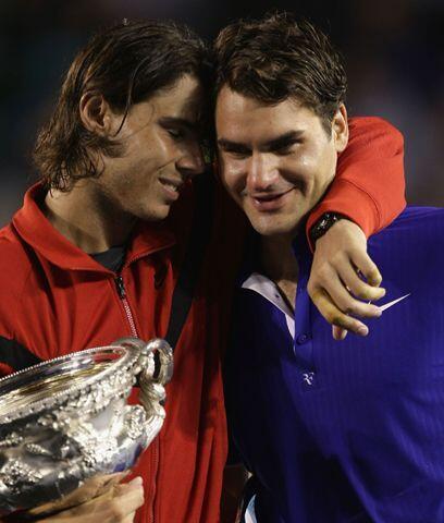 Nadal el campeón defensor...Rafa Nadal hizo historia al ser el pr...