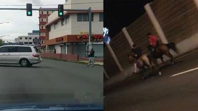 (Advertencia, contenido gráfico) Cabalgata ilegal en avenida principal y asesinato a plena luz del día resaltan falta de seguridad en la Isla