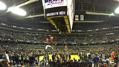 El Nets vs. Heat en la CDMX con buena entrada, pero sin llegar al lleno