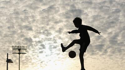 El mundo deportivo captado en el momento justo para ser artístico