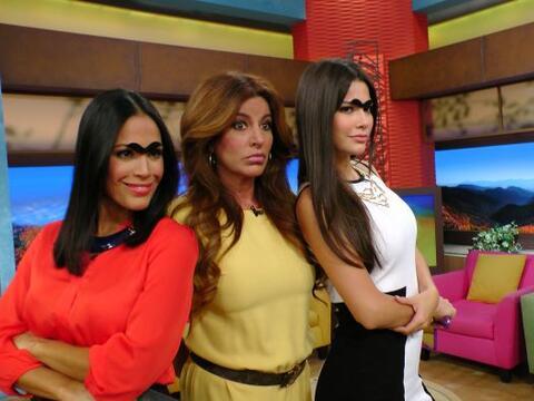 Karla Martínez y Ana Patricia acompañaron a Paola Guti&eac...