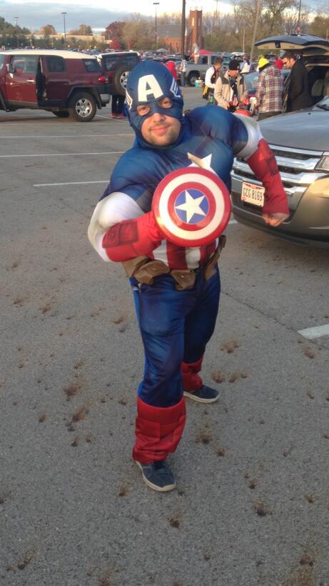 El Capitán América llegó para rescatar a EU.