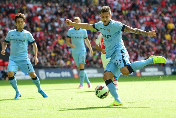 El City tuvo algunos minutos en los que pudo acercarse en el marcador.