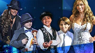 El hijo de Sofía Vergara, el de Jenni Rivera y Miguelito se robaron el show