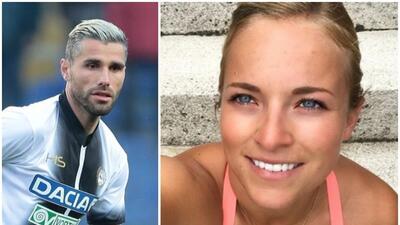Valon Behrami y Lara Gut, un romance deportivo que se roba la atención en Europa