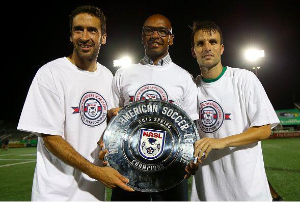 Cosmos viene de ganar el Campeonato de Primavera de la NASL, con un gola...
