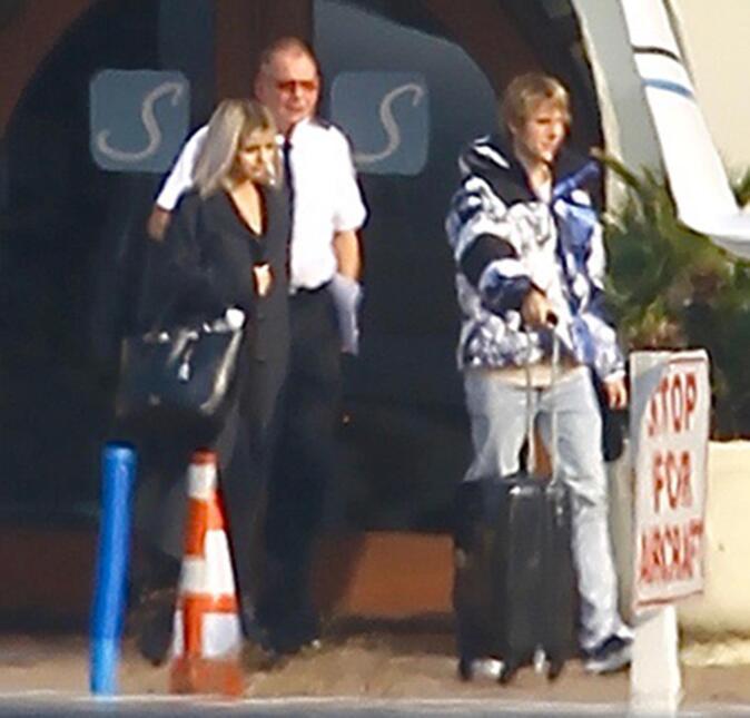 El pasado sábado, Selena Gomez y Justin Bieber tomaron un vuelo privado...