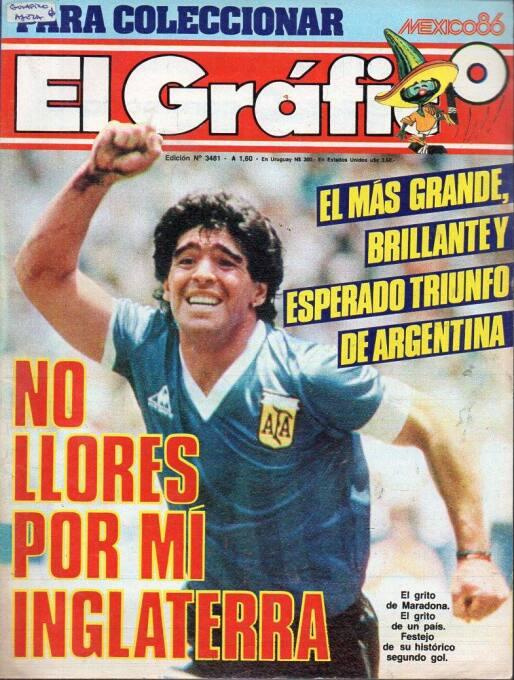 Adiós a un ícono del periodismo: 20 portadas históricas de El Gráfico el...