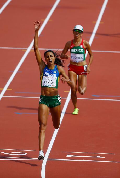 A Brenda Flores la medalla de oro se escapó en el último tramo de la fin...