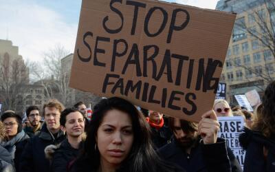 El miedo y el estrés ante la ejecución de las políticas migratorias no s...
