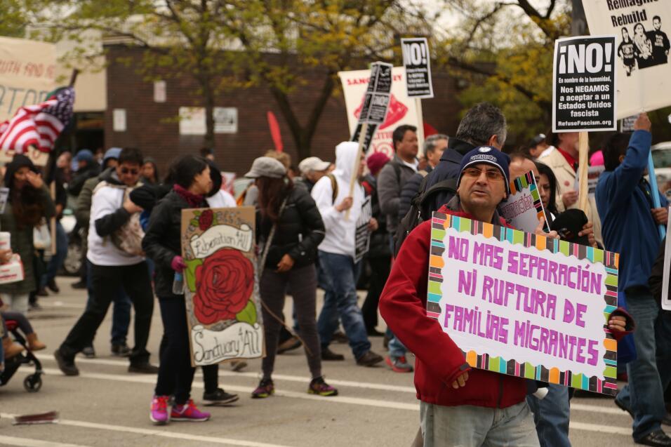 Marcha de Chicago Día del Trabajo