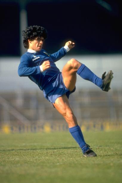 Ni qué decir de Diego Armando Maradona, que se convirtió e...