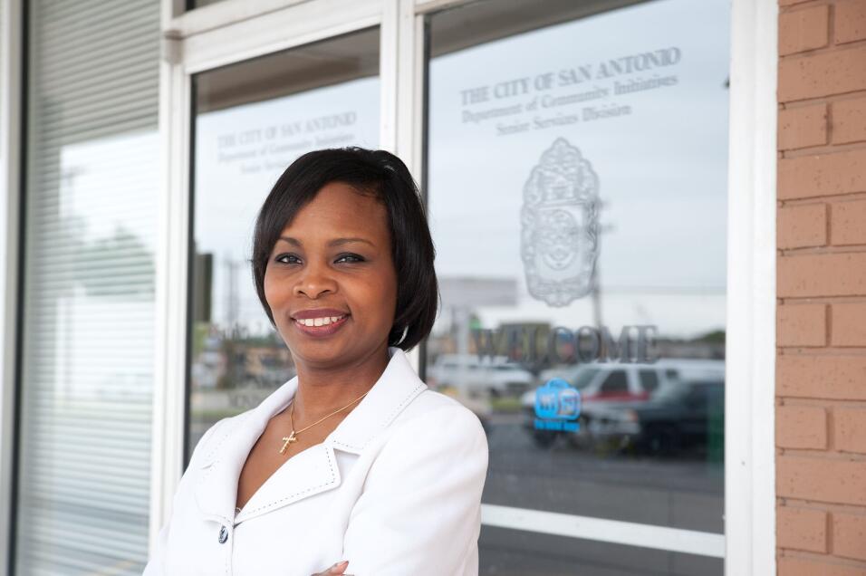 Ivy Taylor, alcaldesa de San Antonio.