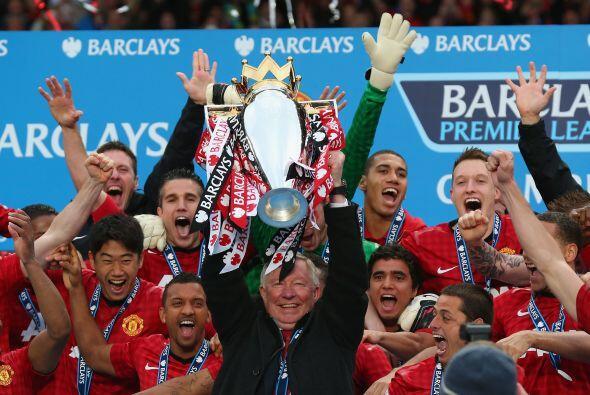 Pero hablando de glorias del Manchester United quizás ninguna mayor que...