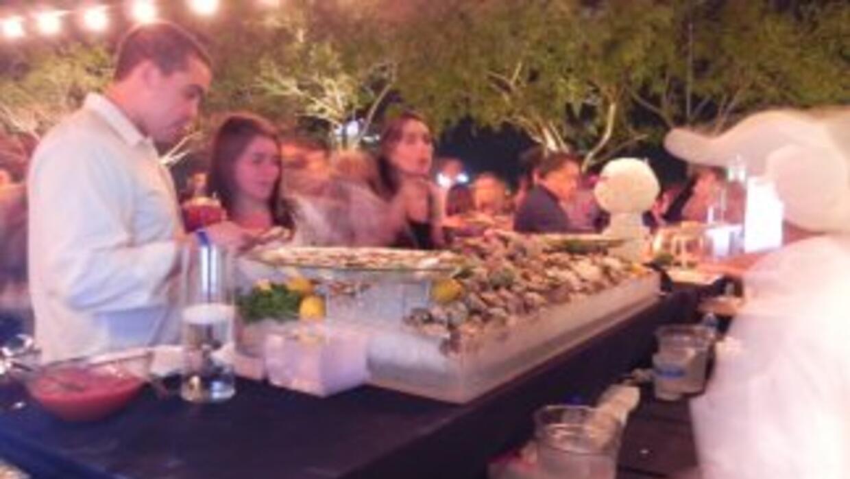 En esta fiesta los invitados especiales y chefs no tuvieron que trabajar...