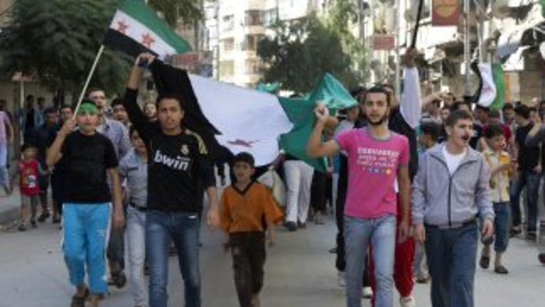 La dirección del rebelde Ejército Libre Sirio (ELS) han comenzado a tras...