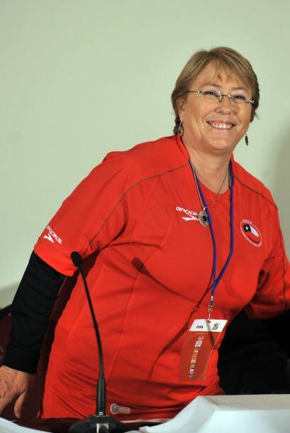 La ex presidenta de Chile Michelle Bachelet, asumió oficialmente...