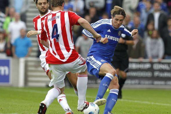 Fernando Torres tuvo la confianza de su técnico para ser titular.