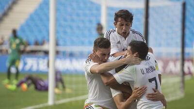 México clasificó al quinto partido del Mundial Sub-20 tras vencer 1-0 a Senegal