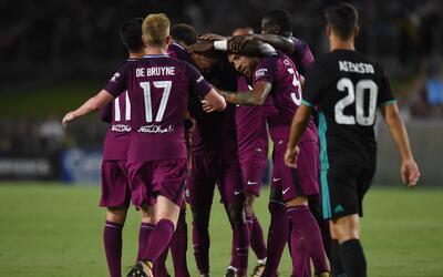 Manchester City goleó al campeón de europa.