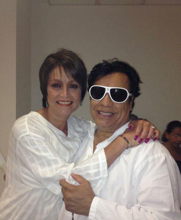 Daniela Romo y Juan Gabriel