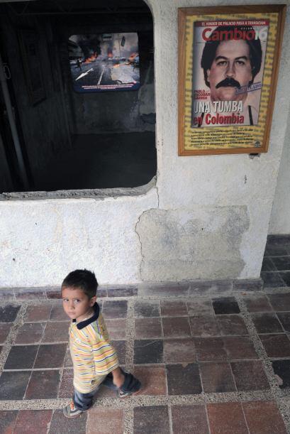 En Colombia, Pablo Escobar Gaviria fue el más rico y poderoso narcotrafi...